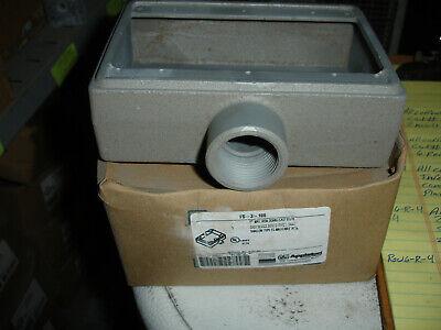 Appleton Fs-3-100 3gang Mall Shallow Type-fs Box