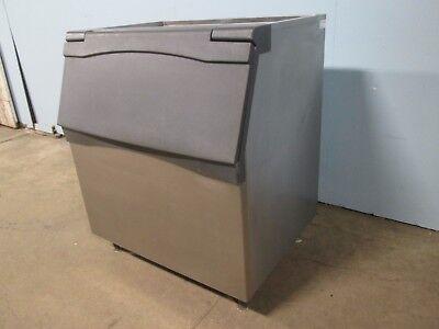 Scotsman B842 S Hd Commercial 800lbs. Open-top Ice Storage Bin Wflip-up Door