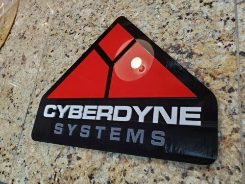 CYBERDYNE 3D ART sign UFO new classic movie Terminator Arnold 2 Bale Systems Inc