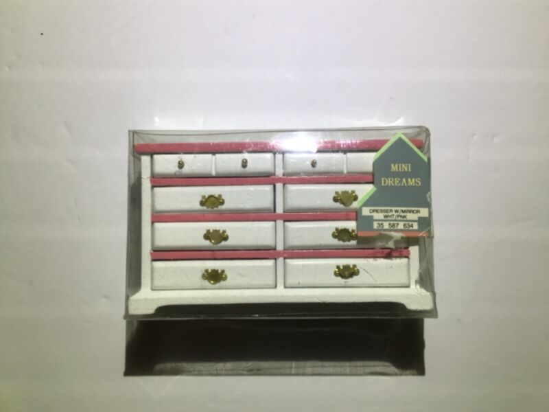 Mini Dreams Dresser With Mirror Pink 35 587 634