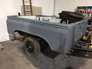Land rover trailer Newcastle Newcastle Area Preview