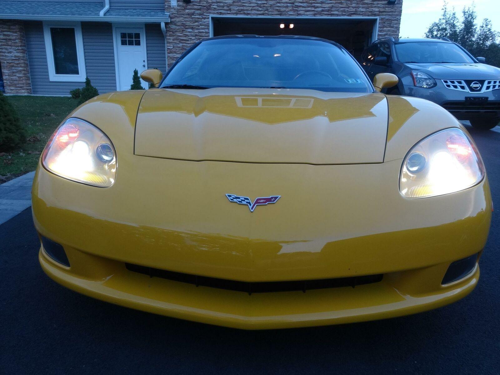 2005 Yellow Chevrolet Corvette     C6 Corvette Photo 5