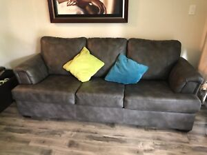 Couch and reclining love seat $550