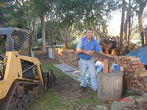 Firewood . Hardwood Slabs and Chopping Blocks Hemmant Brisbane South East Preview