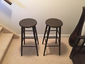 Quality wooden bar stools.
