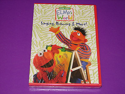 Elmo's World: Singing, Drawing & More! DVD   ***NEW SEALED*** (New Elmo Dvd)