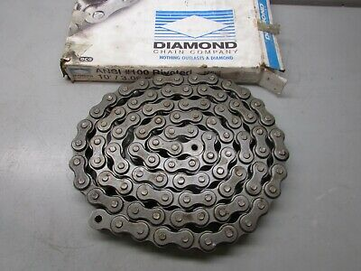 Diamond 100 Riv Roller Chain 10 - No Connecting Link