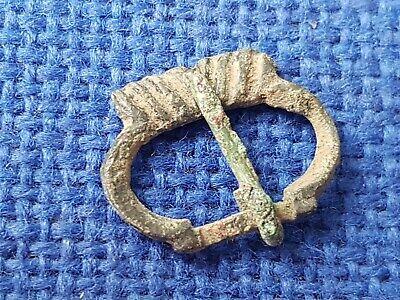 Very rare complete 12/13 hundreds copper buckle. Please read Description. L131b