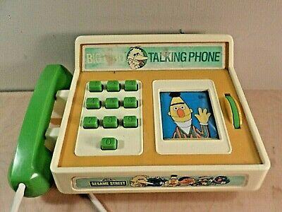 Street Bird (Vintage Sesame Street Big Bird Talking Phone~1982~Rare~ )