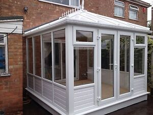 CONSERVATORY 3M X 3M VICTORIAN AND EDWARDIAN  £4,650 FULLY FITTED