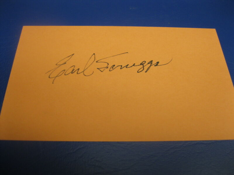 COUNTRY MUSIC STARS LESTER FLATT AND EARL SCRUGGS AUTOGRAPHS