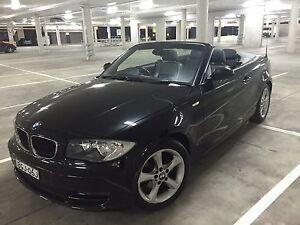 2008 SAPPHIRE BLACK BMW 120i CONVERTIBLE Camden Camden Area Preview