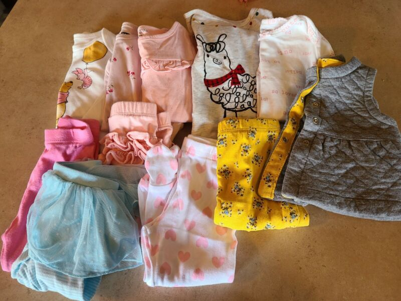 3-6 Month Baby Girl Fall Clothes Lot