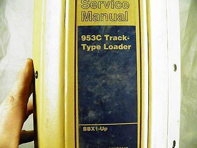 Cat Caterpillar 953c Bbx1-up Service Manual