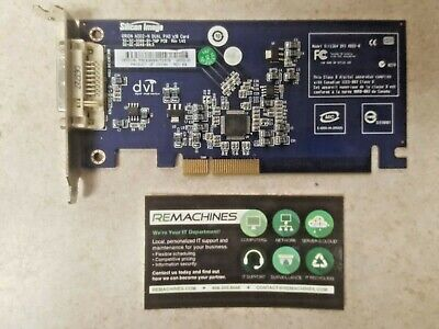 HP Silicon Image 398333-001 DVI-D PCIe Orion ADD2-N Dual Pad Video Card GRA4//9