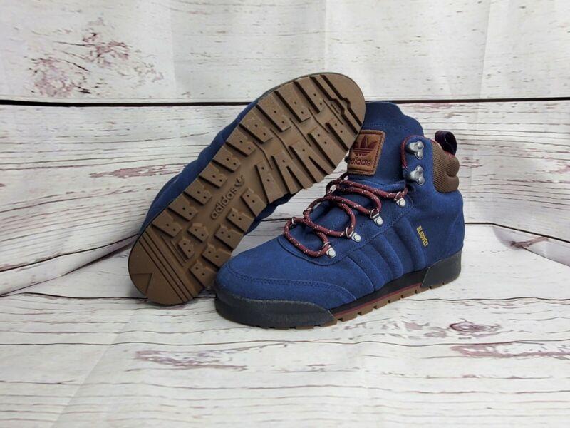 Adidas JAKE BLAUVENT BOOT 2.0 SAMPLE Waterproof Hiking Shoe Blue [EE6207] Mens 9