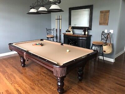 Used 8 Brunswick Pool Table At Everything Billiards Greensboro >> Tables 8ft Pool Table