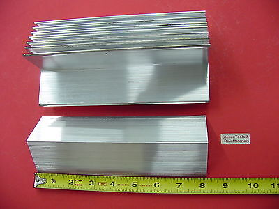 8 Pieces 2x 2x 18 Aluminum 6061 Angle Bar 8 Long T6 Extruded Mill Stock