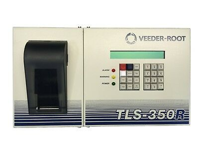 Veeder-root Gilbarco Tls-350r 350 Tank Monitor W 4-input Probe Module Printer