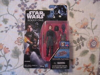 New Star Wars Rogue One Jyn Erso In Imperial Disguise 3 75 Carded Figure