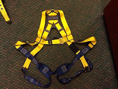 Used Dbi-sala Varies Delta Vest Style Full Body Safety Harness
