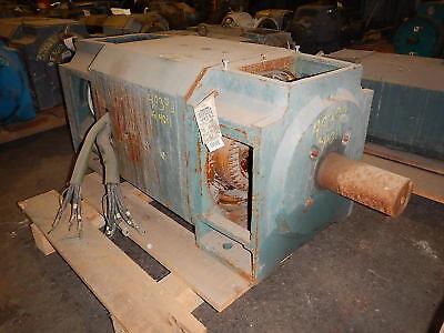 150 Hp Dc Reliance Electric Motor 1150 Rpm C4011atz Frame Dpfv 240 V Arm.