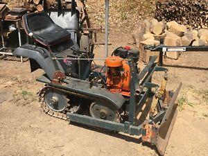 Mini track Layer Bulldozer