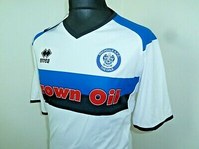 ROCHDALE FC Shirt  soccer JERSEY Errea Home 2018-2019 size UK XL (XXL EU) image