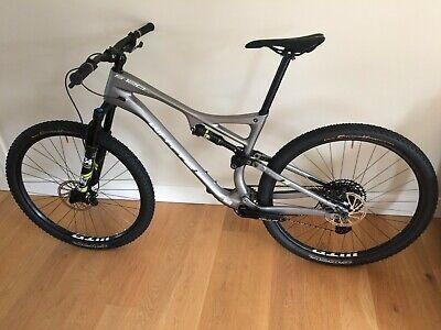 Whyte S120 CR 29er Full Suspension Mountain Bike 2020 Mens Size Large Carbon