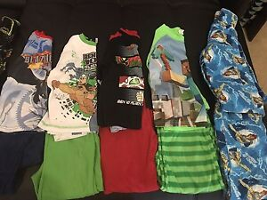 10 pairs boys winter pjs size 6&7 Warners Bay Lake Macquarie Area Preview