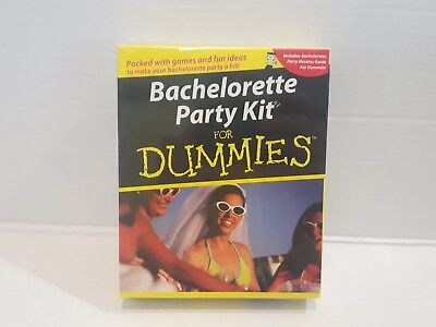 BACHELORETTE PARTY KIT FOR DUMMIES GAMES IDEAS HOSTESS GUIDE GAME SET SEALED NEW - Ideas For Bachelorette Party