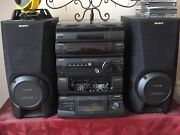 Sony XB4 Hi-Fi Stereo System with Turntable Greenvale Hume Area Preview