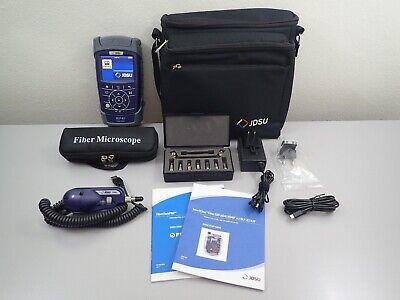 Jdsu Viavi Olp-82 W P5000i Fiber Optic Inspection Kit W 7 Tip Set