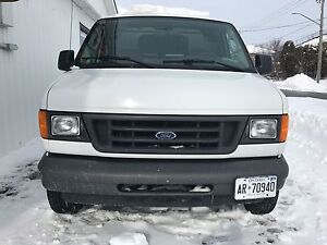 Ford E-250 LOW KMS!!!! Will go quick