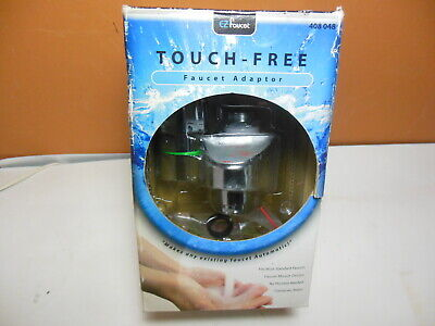 EZ Faucet Touch-Free Automatic Sensor Faucet Adapter for Home 408 048 itouchless