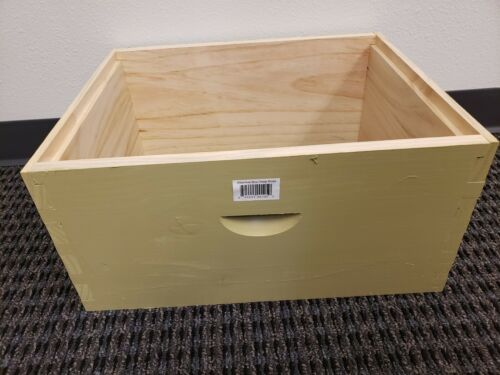 Langstroth 10 Frame Painted Deep Brood Box Only - No Frames