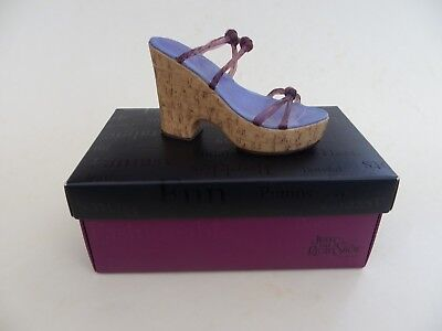 Just The Right Shoe Raine, Cork Wedge 25093.