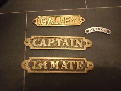 Brass Sign Plaque