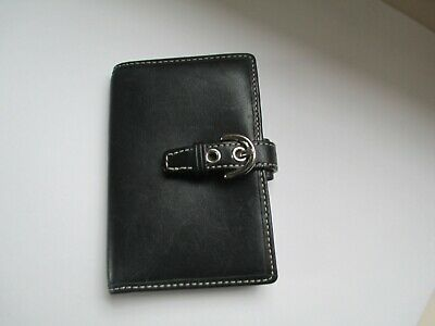 Coach Wallet  leather  small organizer case snap credit cards