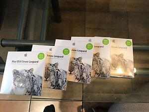 OS X Snow Leopard (4 disks available)