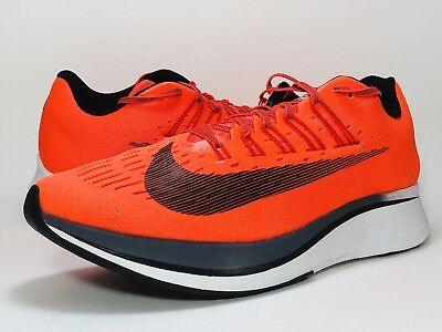 Nike Zoom Fly Running Shoe Men's Size 6.5 Bright Crimson Orange Neon Women's 8 - Men Women Shoe Size