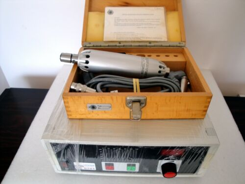 BMR SFU0101 ADJUSTABLE FREQUENCY CONVERTER & OBERG SPINDLE MOTOR