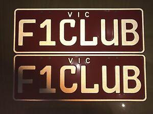 Number plates Melbourne CBD Melbourne City Preview