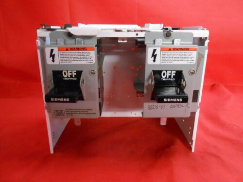 """SIEMENS MCC BUCKET 10.5"""" WITH HED43B015 HED43B020480V 15/20A - RECOn model 95"""