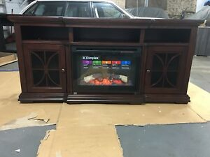 Fire place media unit