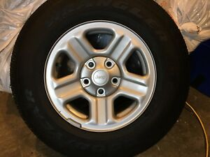 JeepWrangler-  5 tires and Rims almost new