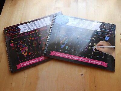 uch Rainbow Magic Silver Holographic + Stift Kratzblock  (Rainbow Magic)