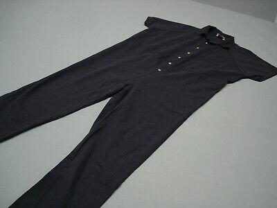 Prison Convict Costume (Inmate Jail Prisoner Convict Costume Prison Blue Jumpsuit  )