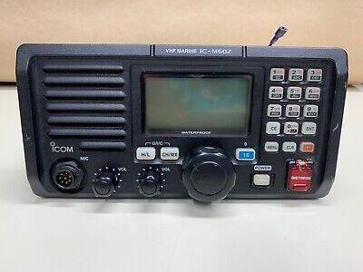 ICOM VHF MARINE IC-M602 RADIO WATERPROOF *FULLY FUNCTIONAL*