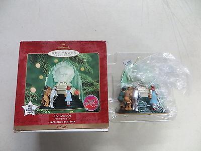 Der Große oz Zauberer von oz und Blinkend Licht Hallmark Weihnachten Ornament